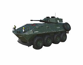 3D model LAV 25 Light Armored Vehicle