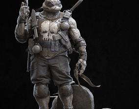 Turtle Punisher 3D printable model