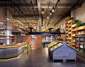 3D model 24-hour convenience stores