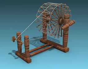 3D asset Spinning Wheel