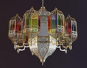 Oriental Lamp 001S-8 3D