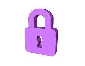 Lock For 3D printing