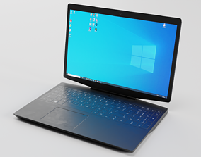 Notebook 3D asset VR / AR ready PBR