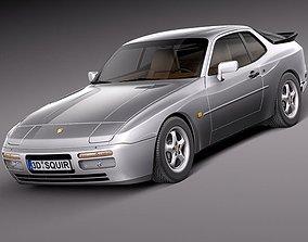 Porsche 944 1982-1991 3D model