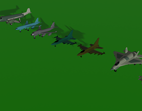 3D model realtime Aircraft Package