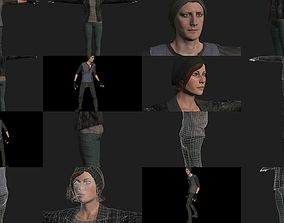 3D PBR Apocalyptic Survivors Complete Pack
