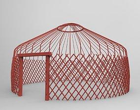 3D Kazakh yurt