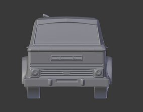 3D printable model Track Trailer