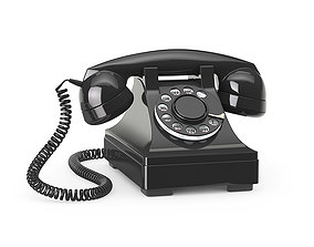 Western Electric 302 phone 3D model