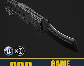 Razor Knife 3D asset