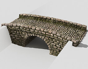 3D model Creek bridge