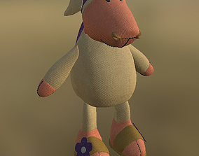 3D model Toy Sheep Not Rigged PBR