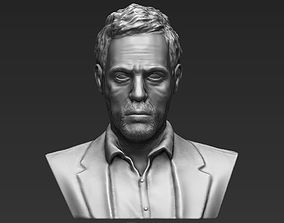 MD Gregory House bust 3D printing ready stl obj