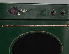 game-ready Oven front door - PBR Model