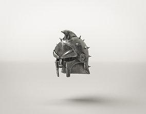 3D asset Roman Gladiator Helm Armor