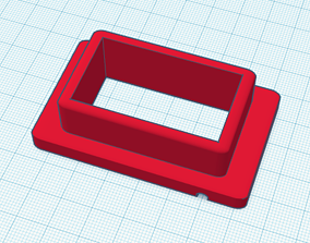 3D printable model Remote thermometer housing for 3 D 2