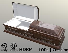 Casket Beech - Unity - HDRP - UE4 3D asset
