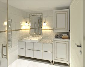 3D asset realtime Bathroom