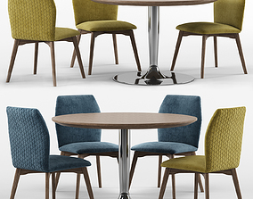 3D model Hexa and Planet - connubia calligaris