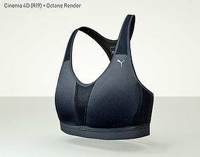 Puma -Get Fast- Sport Bra 3D model