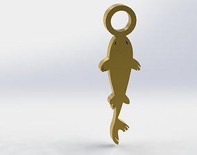 3D printable model Koi Pendant 2