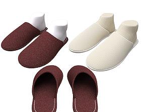 3D model slippers home