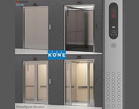 Elevator Kone MonoSpace 700 - KDS 50 3D