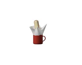 3D printable model Cup of milk