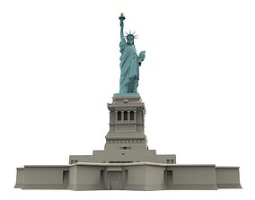 3d printed model of the Statue of Liberty