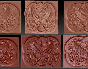 Relief Garuda Bali bas relief for CNC 3D printable model
