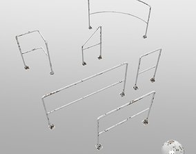 3D model railing system collection
