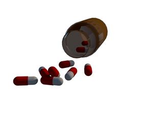 Pill box 3D print model