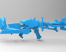 Evil Space Elf - Shredder 3D print model
