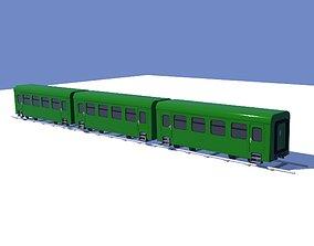 3D model VR / AR ready Train