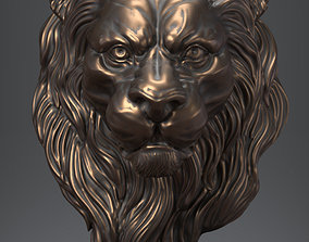 Lion Head nature 3D print model
