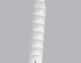 3D model World Landmark Leaning Tower of Pisa