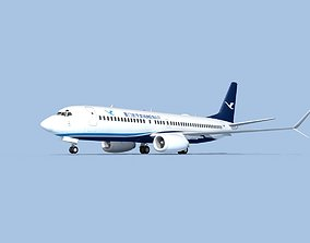 3D model rigged Boeing 737-800 Max Xiamen Airlines