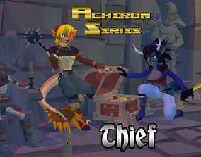 3D model Acheron Thief Outfit