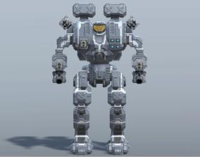 3D asset Titan BattleMech
