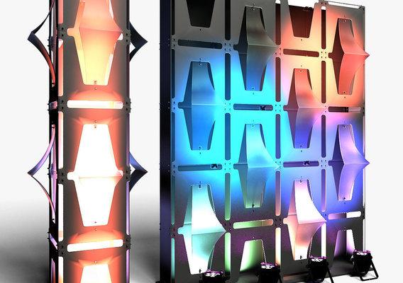 Stage Decor 31 Modular Wall Column