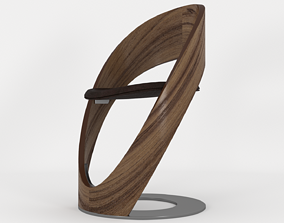 Tube Chair From Martz Edition - 3ds Max leather