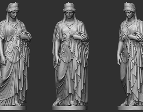 19th Century Woman Sculpture 3D printable model