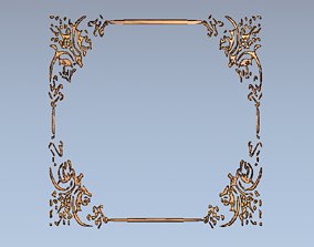 Picture frame 3D printable model likeness