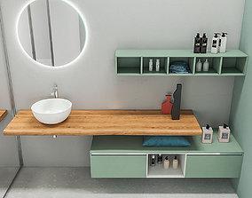 3D model Bathroom furniture set Arcom Escape 4