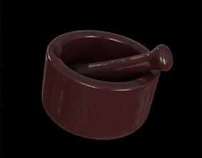 3D model Brown Mortar and Pestle