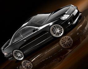 3D model Mercedes CL AMG 2000-2005