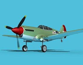 3D Curtiss P-40B Warhawk V08 USAAF