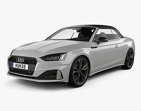 Audi A5 cabriolet 2019 3D