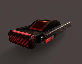Sci-Fi Space Ship V4 3D model