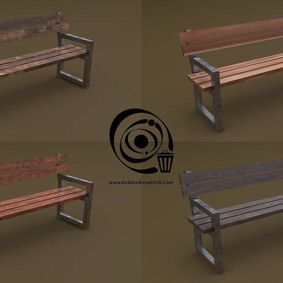 Bench 30 4in1 - 4 Texture 1 Model RR